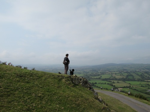 The Mutts surveying his manor!