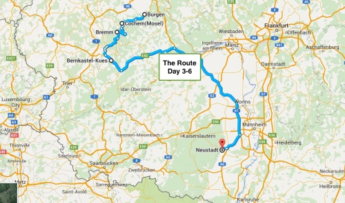 The Route From the Moselle