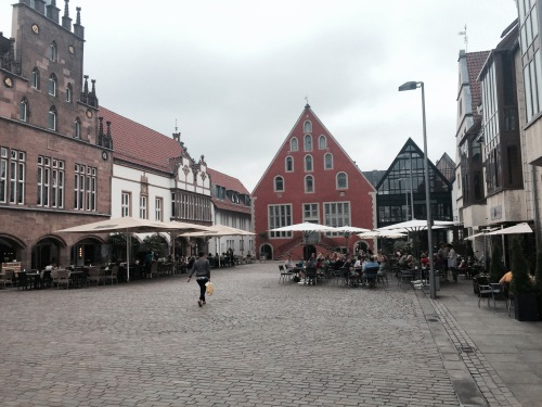 The Rathaus square