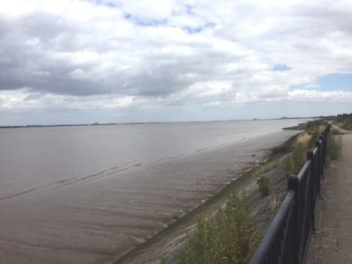 The Humber looking towards the North Sea